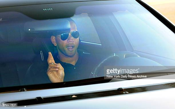 New York Yankees 3rd baseman Alex Rodriguez arrives alone at George M Steinbrenner field for the Yankees Spring Training game against the Tampa Bay...