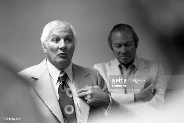 New York Yankee's Al Rosen at a press conference