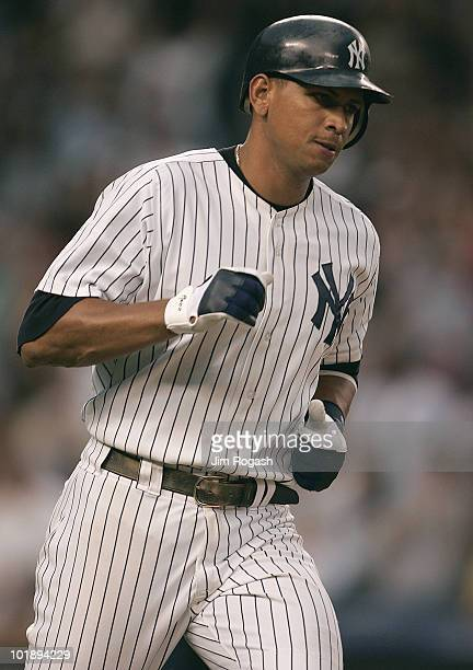 New York Yankees batter Alex Rodriguez connects for a tworun home run to help defeat the Chicago White Sox 32 at Yankee Stadium in New York Monday...