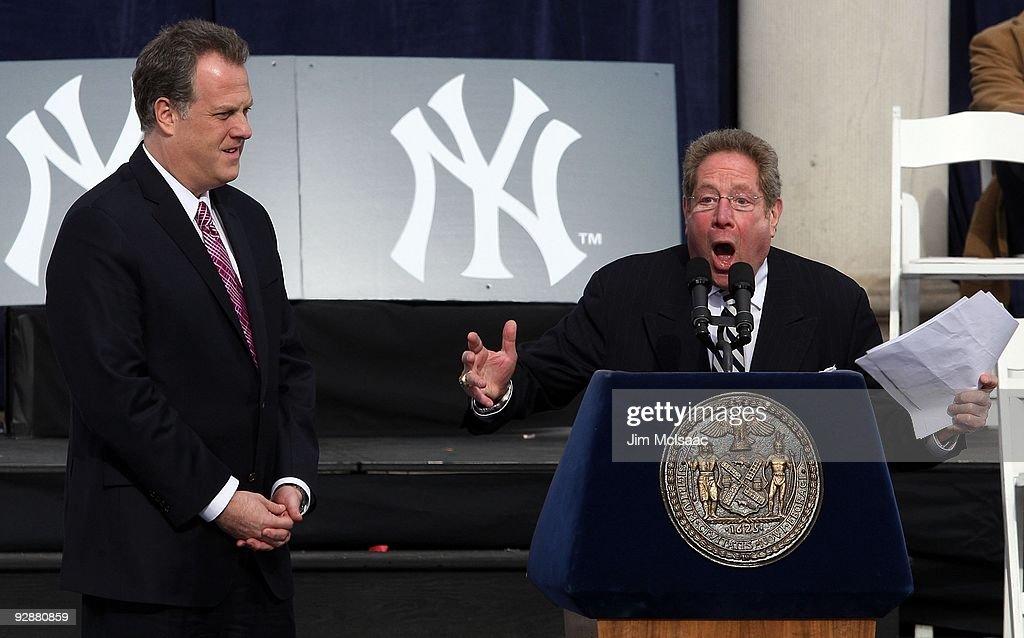 New York Yankees World Series Victory Parade : News Photo