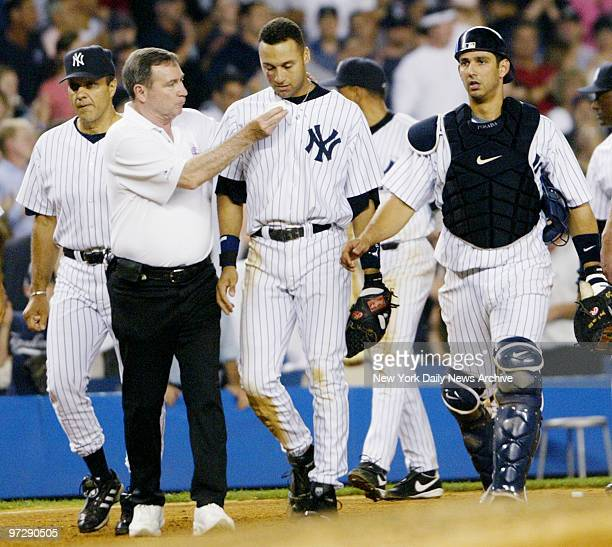 Derek Jeter The Dive Stock Pictures, Royalty-free Photos & Images