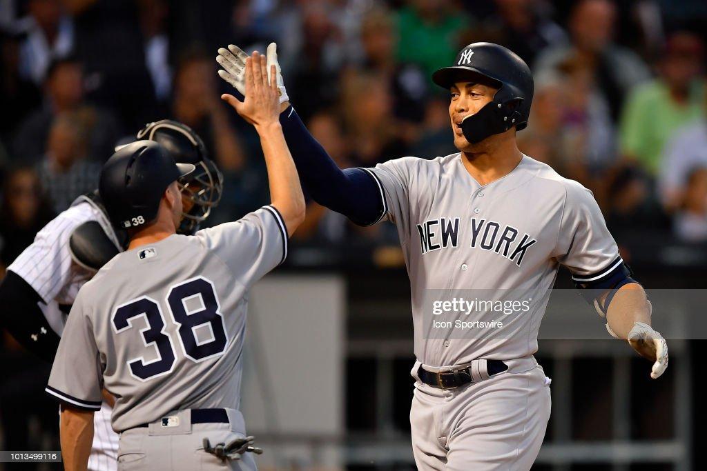 MLB: AUG 08 Yankees at White Sox : News Photo