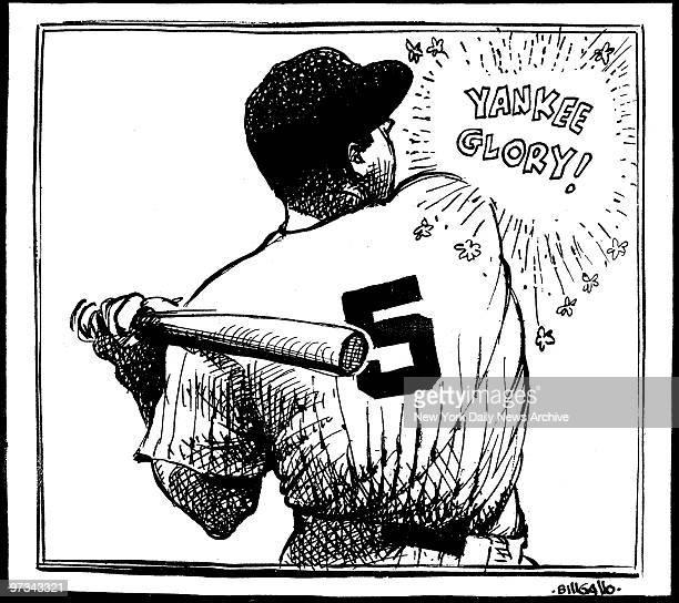 New York Yankees' Joe DiMaggio Yankee Glory