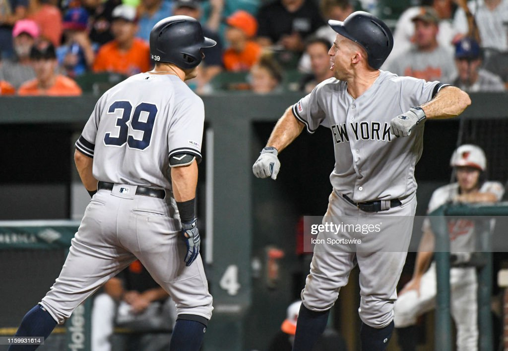 MLB: AUG 05 Yankees at Orioles : News Photo