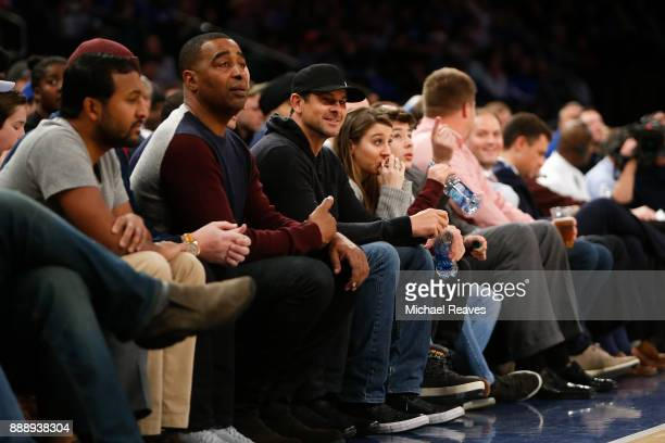 New York Yankees Manager Aaron Boone looks on during the second half of the game between the Kentucky Wildcats and the Monmouth Hawks at Madison...