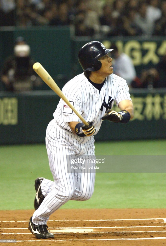 New York Yankees v Yomiuri Giants : ニュース写真
