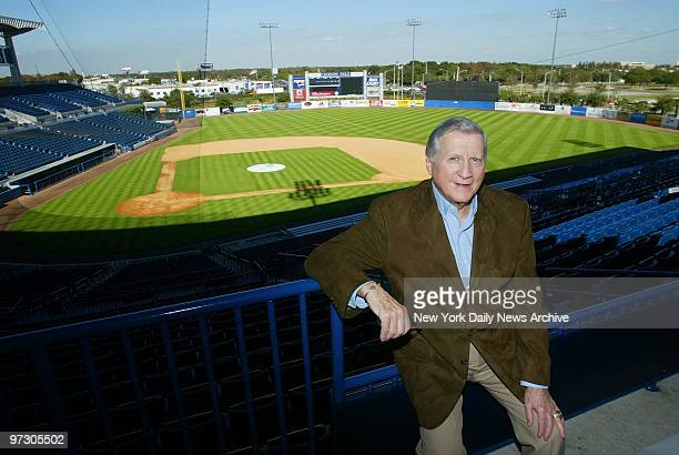 New York Yankees' owner George Steinbrenner at Legends Field the team's spring training facility in Tampa Fla