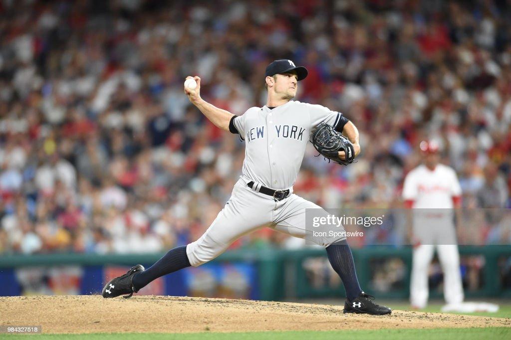MLB: JUN 25 Yankees at Phillies : News Photo