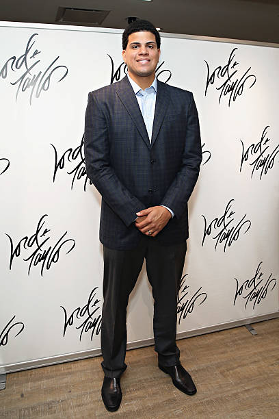 e458c3b4431 New York Yankees pitcher Dellin Betances attends the Lord   Taylor Suddenly  Summer Jam with Maxim