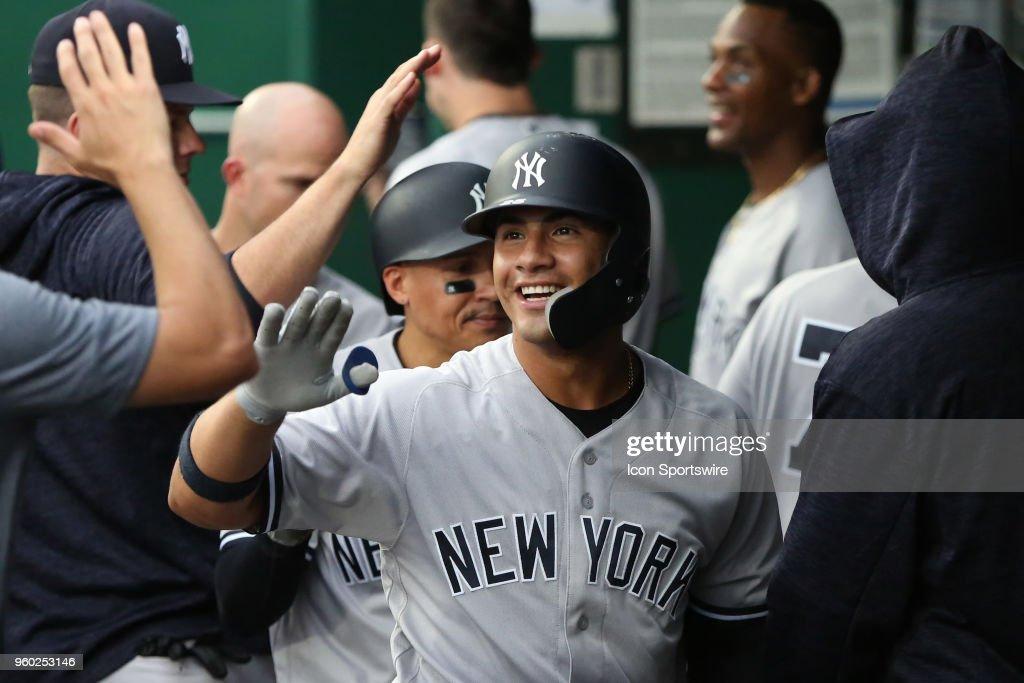 MLB: MAY 19 Yankees at Royals : News Photo