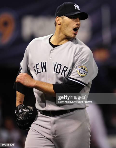New York Yankees starting pitcher Andy Pettitte goes 6-1/2 innings and allows just one run, quieting Metrodome crowd.