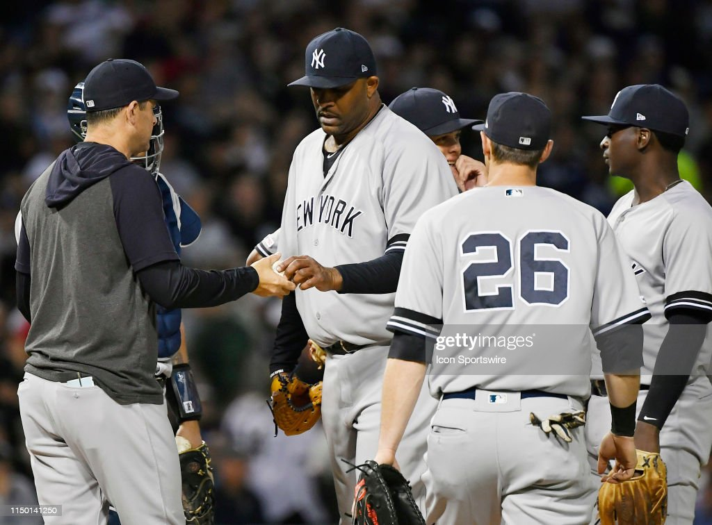 MLB: JUN 14 Yankees at White Sox : News Photo