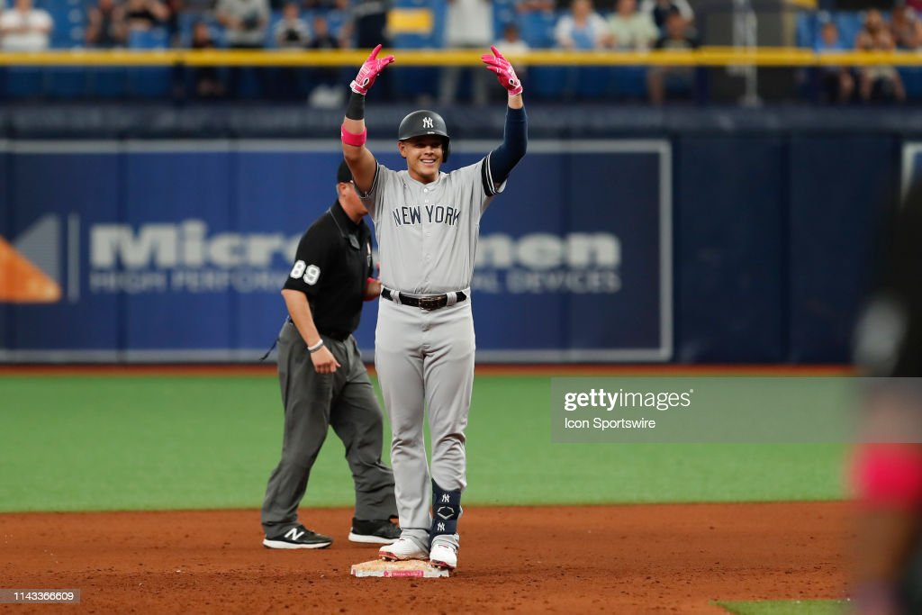 MLB: MAY 12 Yankees at Rays : News Photo