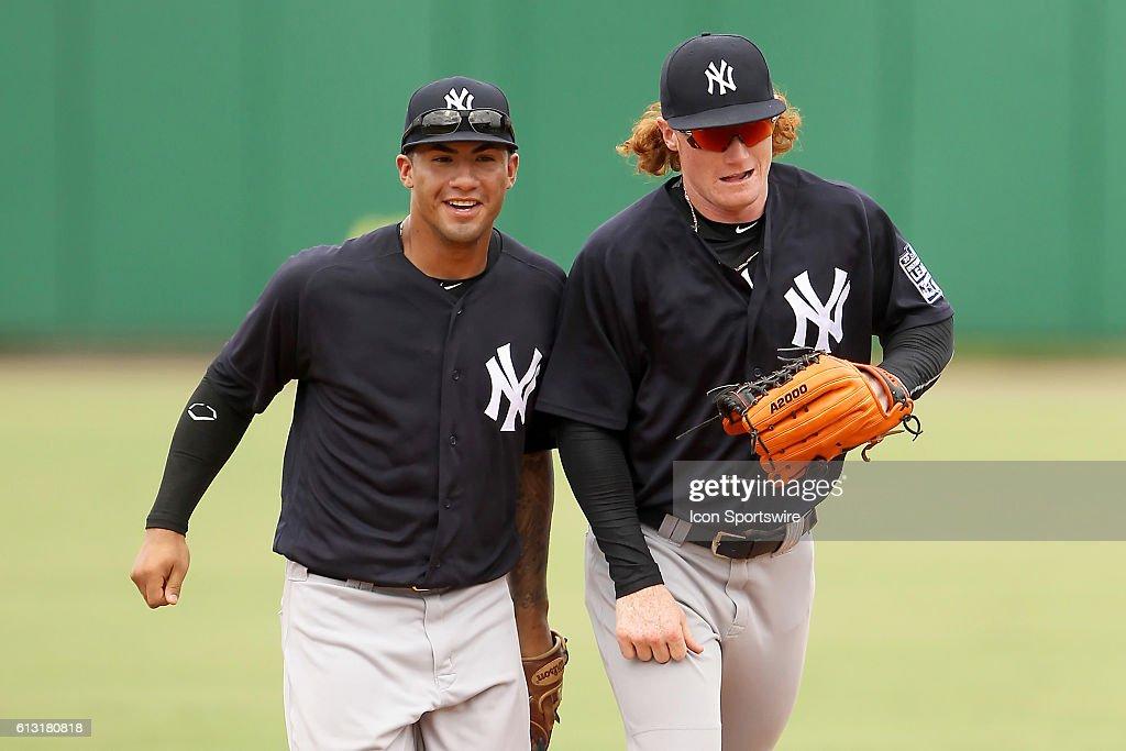 MiLB: OCT 06 Florida Instructional League -  FIL Yankees at FIL Phillies : Fotografía de noticias