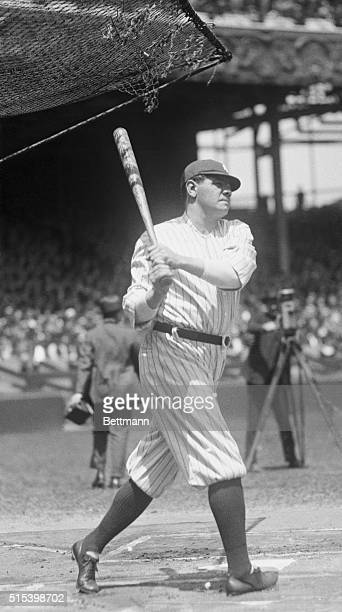 New York: Yankees vs. St. Louis at The Polo Grounds. His suspension being at an end, Babe Ruth returned to the game on May 20th. The reception from...