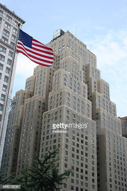 new yorker hotel, manhattan, usa - new yorker building stock photos and pictures