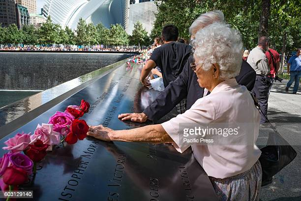 New Yorkers celebrated the memory of those who lost their lives in the September 11 terror attack 15 years ago at Ground Zero Transforming tears into...