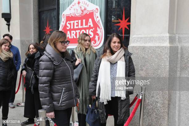 New Yorkers join Waterorg cofounders Matt Damon and Gary White for a firstround of Stella Artois to get inspired to 'Make Your Super Bowl Party...