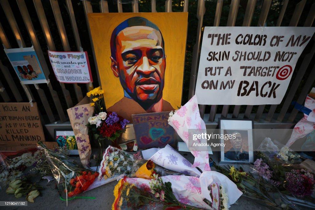 Harlem pays tribute to George Floyd : News Photo