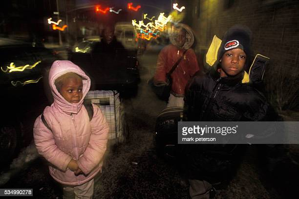 New York's homeless population is larger now than it was in the 1980's The rise is mainly seen in the more than 13000 children who spend their nights...