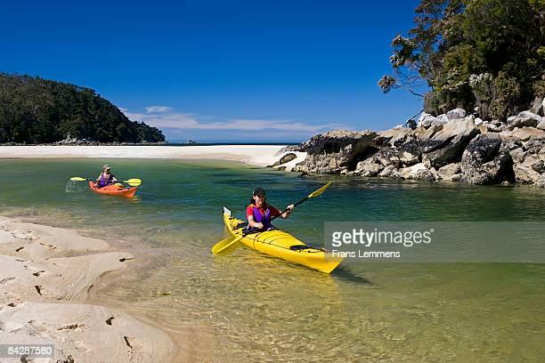 New Zealand, Abel Tasman National Park. Kayaking.
