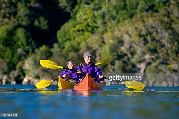 New Zealand, Abel Tasman NP. Kayaking