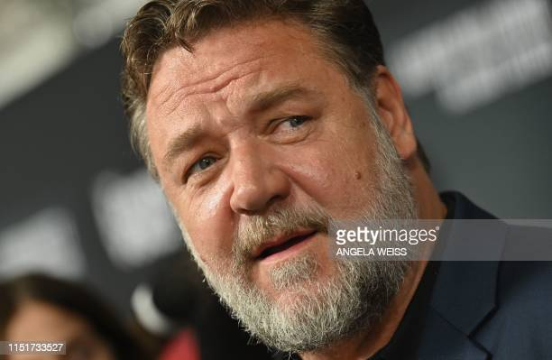 New Zealand actor Russell Crowe attends the Showtime limited series premiere of The Loudest Voice at the Paris theatre on June 24 2019 in New York
