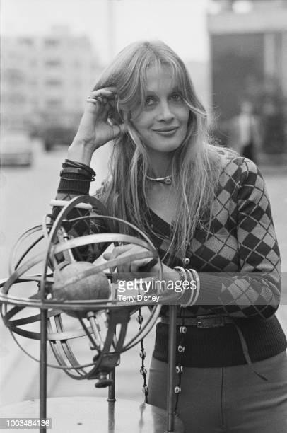 New Zealand actress hotelier and interior designer Anouska Hempel UK 27th September 1973