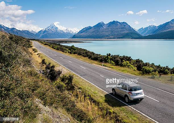 new zealand adventure - distant stock pictures, royalty-free photos & images