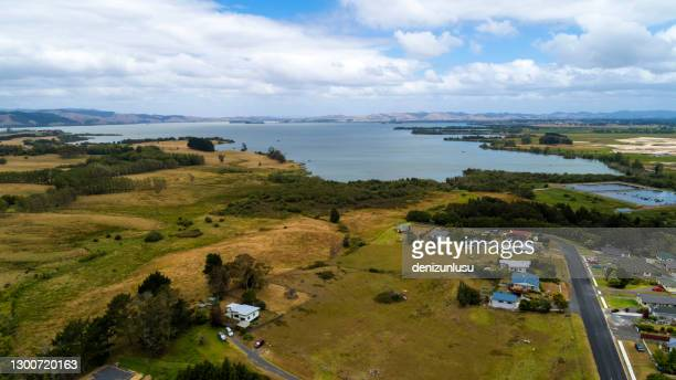 new zealand aerial view - hamilton new zealand stock pictures, royalty-free photos & images