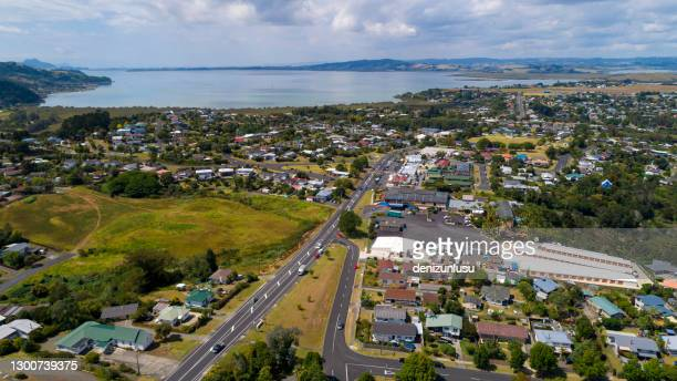 new zealand aerial view - northland new zealand stock pictures, royalty-free photos & images