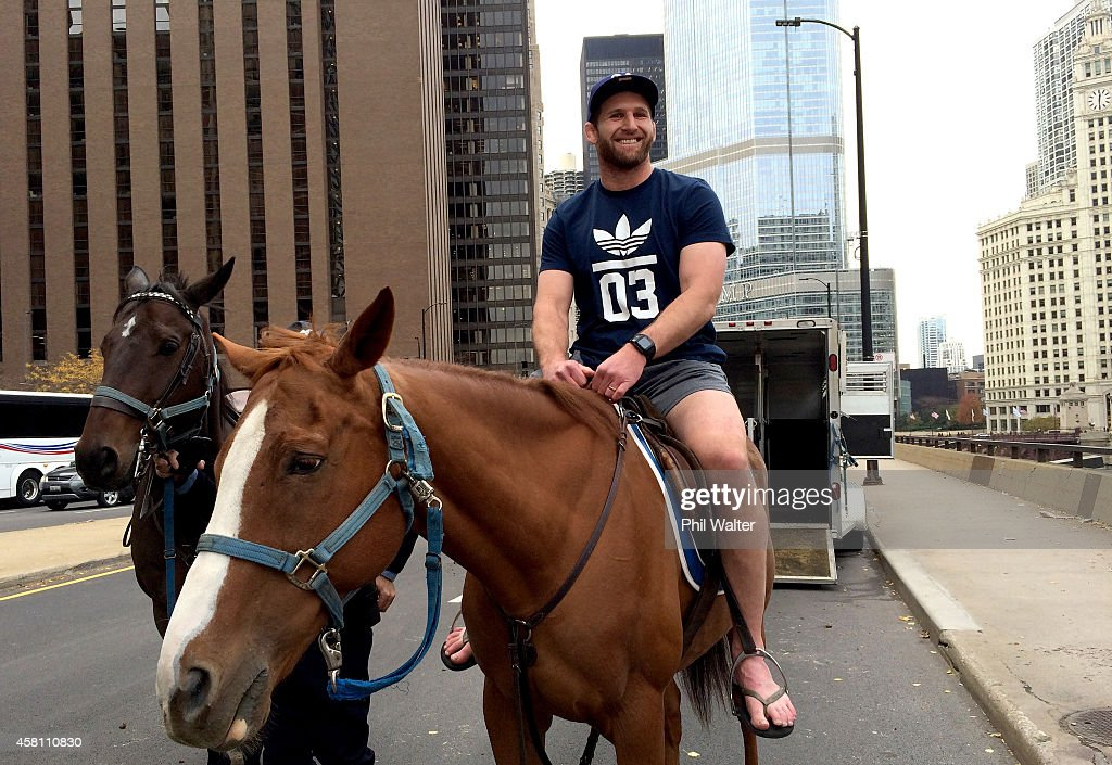 All Blacks meet Chicago Mounted Police Patrol Unit