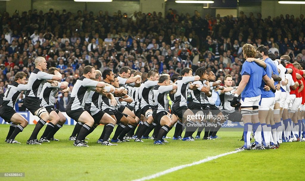 Rugby Union - IRB World Cup - New Zealand vs. France : News Photo
