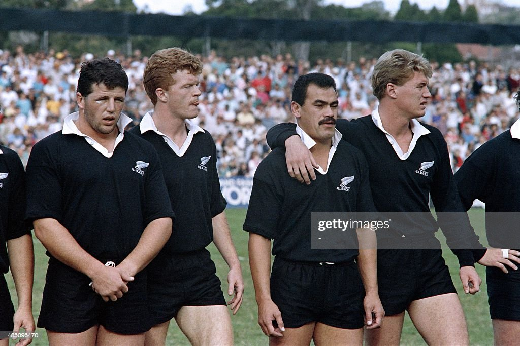 RUGBY-WC87-SEMIFINAL : News Photo