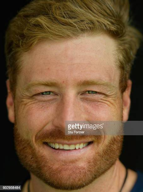 New Zealand batsman Martin Guptill pictured before day two of the Test warm up match between England and New Zealand Cricket XI at Seddon Park on...