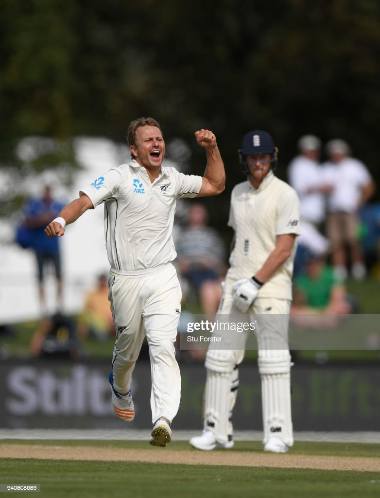 New Zealand v England 2nd Test: Day 4 : News Photo