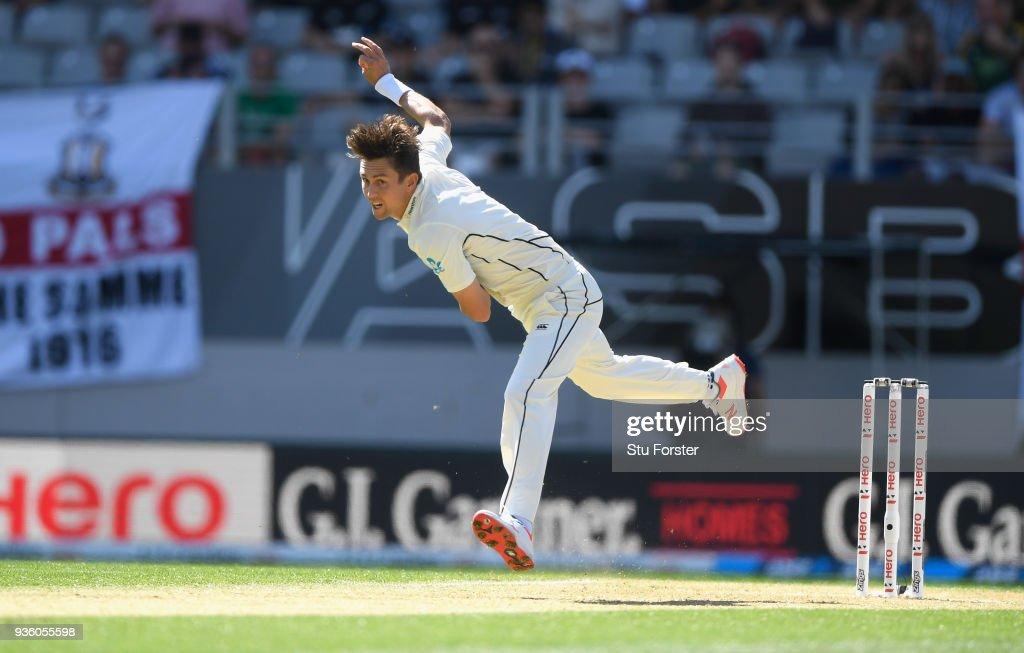 New Zealand v England 1st Test: Day 1 : News Photo