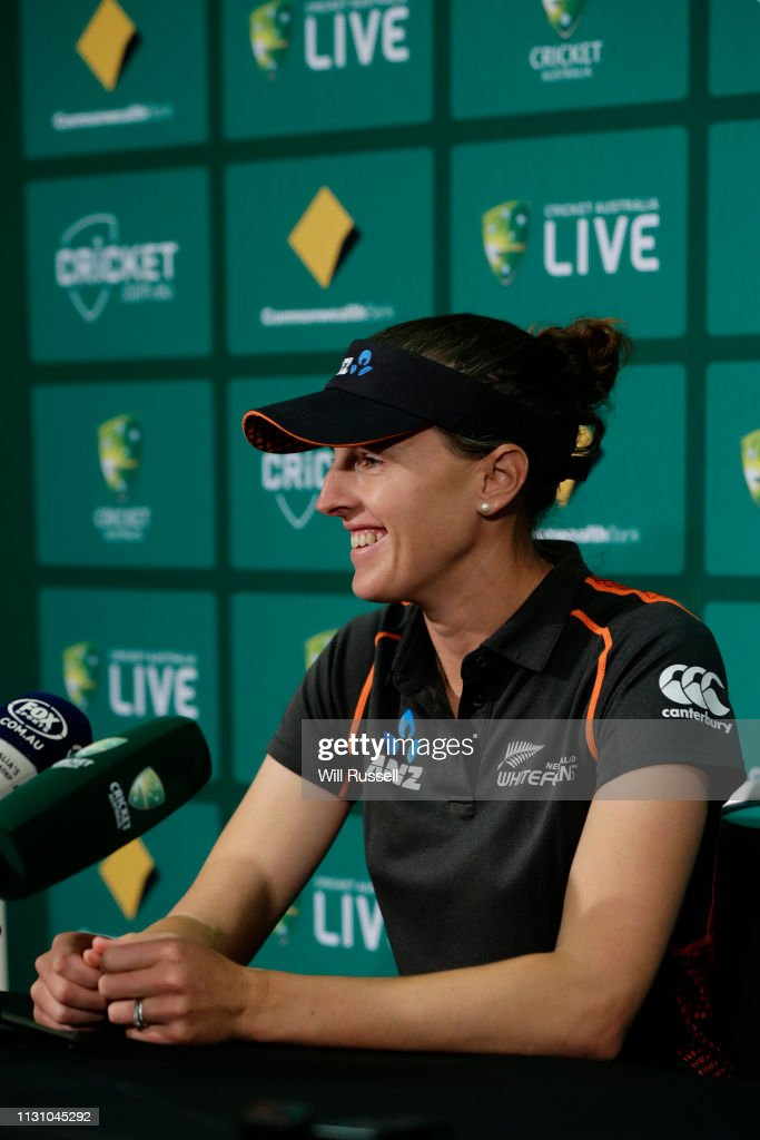 AUS: Australia v New Zealand One-Day International Series Media Session