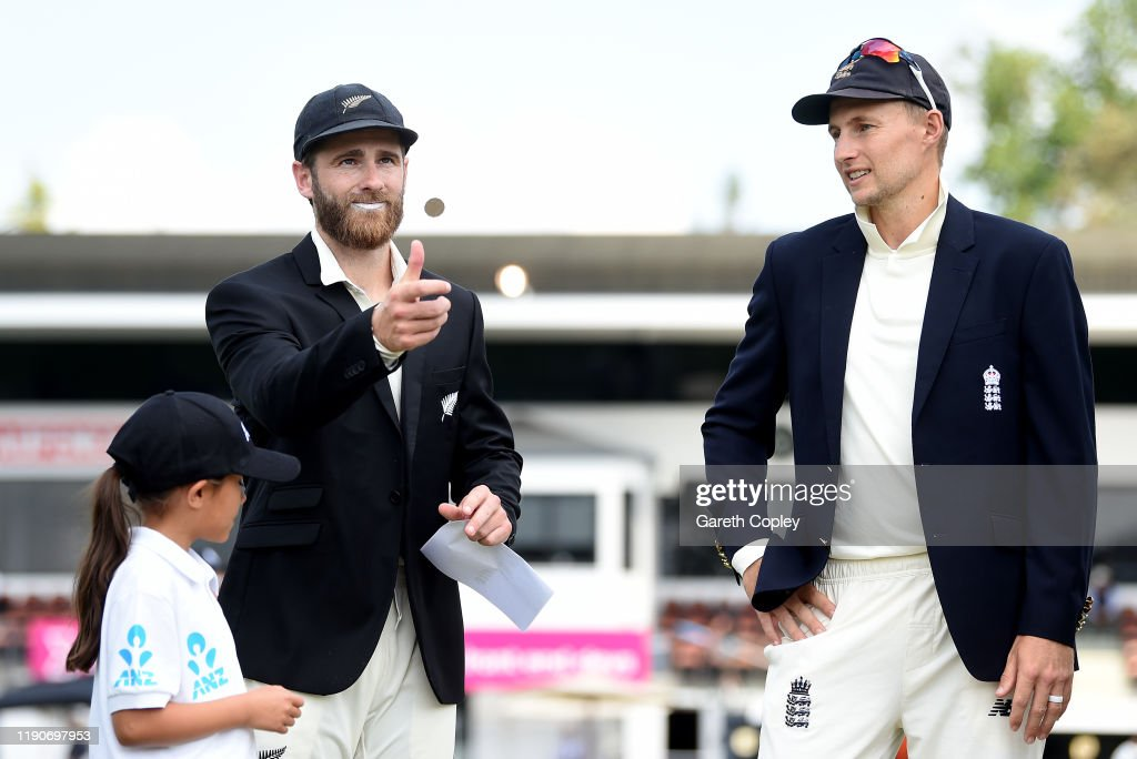 New Zealand v England - Second Test: Day 1 : News Photo