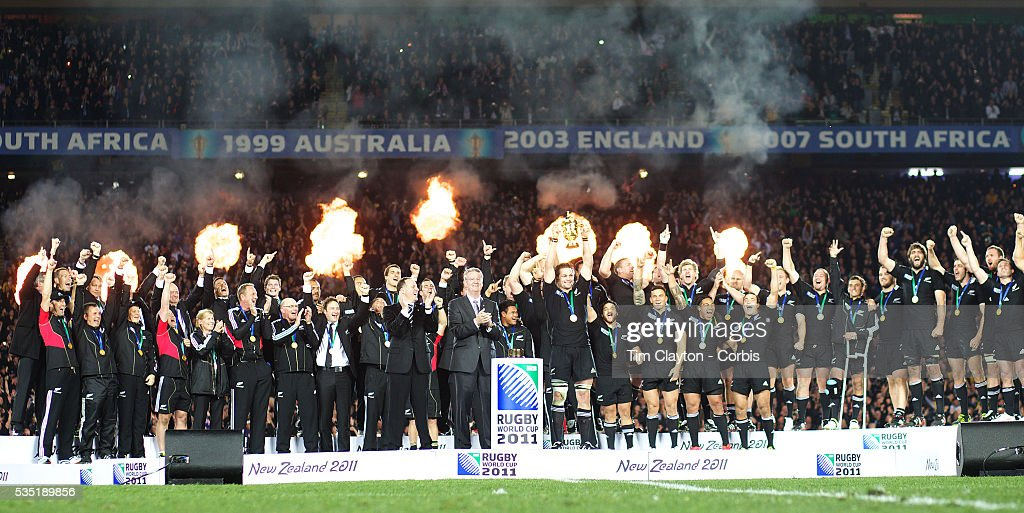 Rugby Union - IRB World Cup 2011 Finals - New Zealand vs. France : News Photo