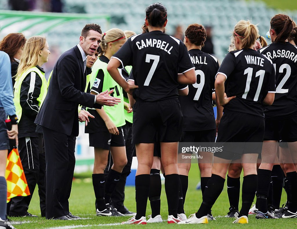 FIFA U-17 Women's World Cup - New Zealand v Denmark : News Photo