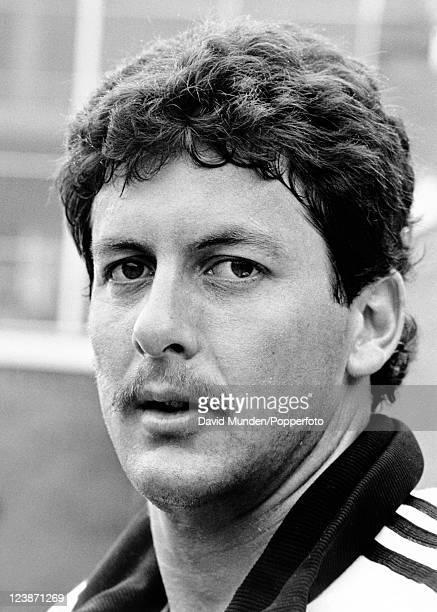 New Zealand cricketer Derek Stirling circa 1986