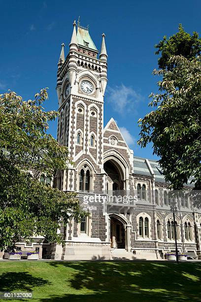 Dunedin, city of the Otago Region, in the South Island. The University of Otago built in the Edwardian Baroque style.