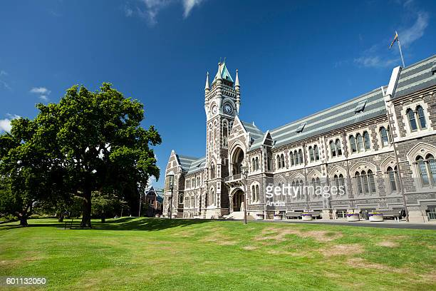 Dunedin city of the Otago Region in the South Island The University of Otago built in the Edwardian Baroque style