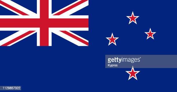 new zealand flag - neuseeland stock-fotos und bilder
