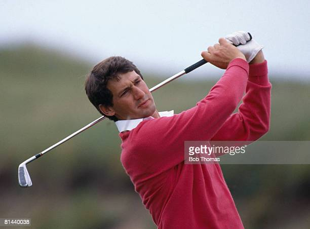 New Zealand golfer Frank Nobilo during the British Open Golf Championship held at Turnberry Scotland between the 17th 20th July 1986
