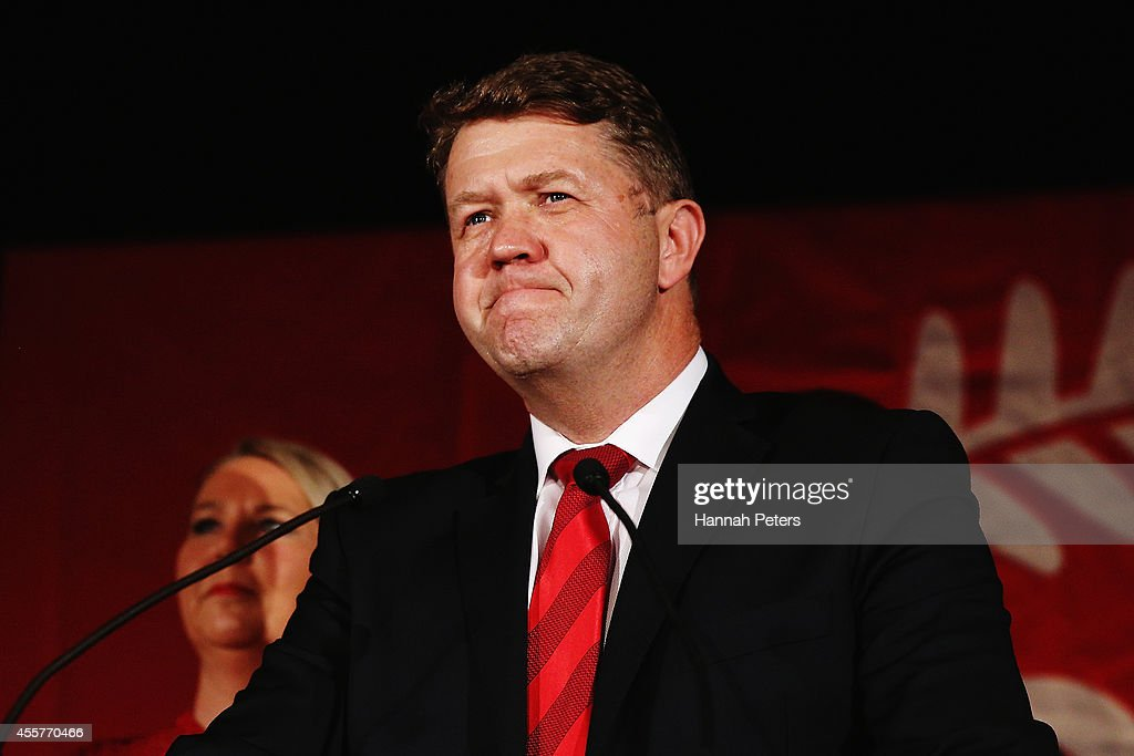 David Cunliffe Concedes Election Defeat In New Zealand : News Photo