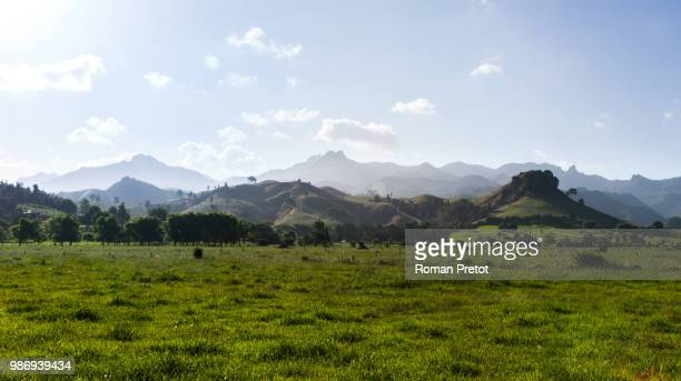 new zealand landscape #1 - roman pretot stock pictures, royalty-free photos & images