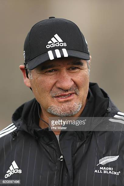 New Zealand Maori All Black coach Colin Cooper during training at Toyota Park on November 2 2016 in Bridgeview Illinois