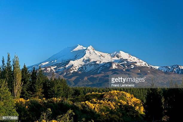 New Zealand,  Mount Ruapehu.